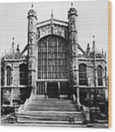 British Royalty. St. Georges Chapel Wood Print