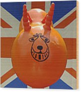 British Space Hopper Wood Print