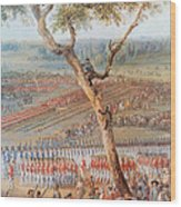 British Troops Surrender At Yorktown Wood Print
