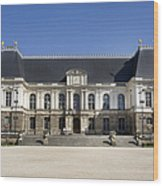 Brittany Parliament Wood Print by Jane Rix
