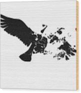 Broken Peace Wood Print