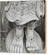 Broken Statue Wood Print