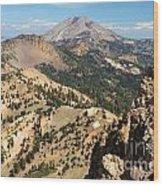 Brokeoff Mountain Peak Wood Print