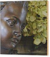 Bronze Gaze Wood Print