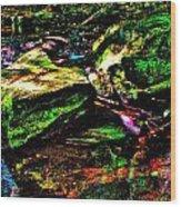 Brook Texture 127 Wood Print