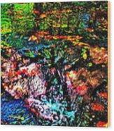 Brook Texture 133 Wood Print