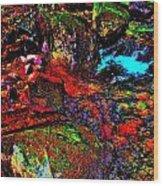 Brook Texture 22 Wood Print