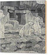 Brookfield Memories Wood Print