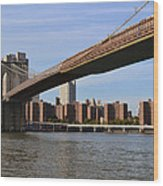 Brooklyn Bridge1 Wood Print