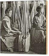 Broom Manufacture, 1908 Wood Print by Granger