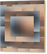 Brushed 02 Wood Print