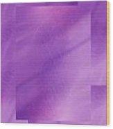 Brushed Purple Violet 1 Wood Print