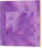 Brushed Purple Violet 2 Wood Print