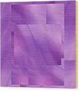 Brushed Purple Violet 5 Wood Print