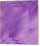 Brushed Purple Violet 7 Wood Print