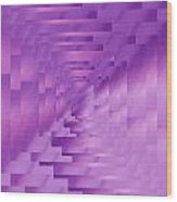 Brushed Purple Violet 9 Wood Print