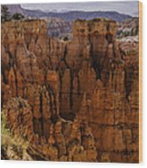 Bryce Canyon 01 Wood Print