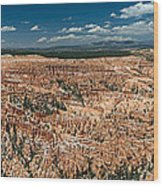 Bryce Canyon Panaramic Wood Print