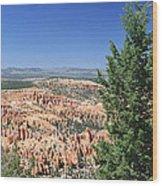 Bryce Canyon Panoramic Wood Print