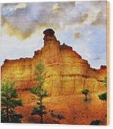 Bryce National Park Sunset Wood Print