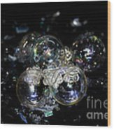 Bubble Time Wood Print