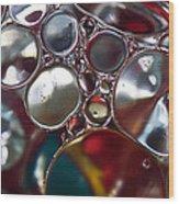 Bubbles IIi Wood Print