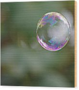 Bubbles Wood Print