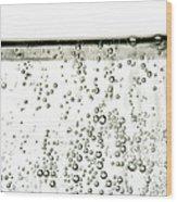 Bubbles Wood Print