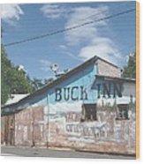 Buck Inn Wood Print