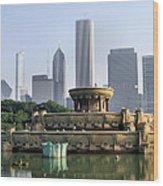 Buckingham Fountain - 1 Wood Print