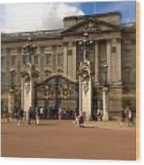 Buckingham Palace Wood Print by John Colley