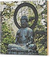 Buddah Wood Print