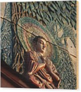 Buddha Relief Wood Print