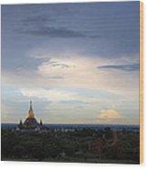 Buddha's Sky Wood Print