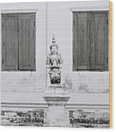 Buddhism Wood Print