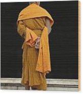 Buddhist Monk 1 Wood Print