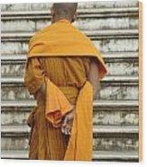 Buddhist Monk 2 Wood Print