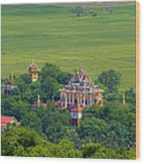 Buddist Temple Wood Print