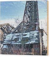 Buffalo Bridges 10624c Wood Print