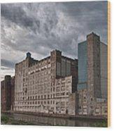 Buffalo Mills - The Backside Wood Print
