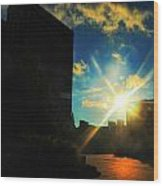 Buffalo Ny Awakening  Wood Print