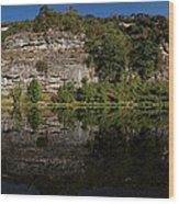 Buffalo River Bend Panorama Wood Print