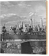 Buglers On Governors Island Wood Print