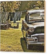 Buick For Sale Wood Print
