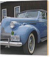 Buick Wood Print