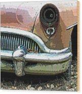 Buick Wood Print by Steve McKinzie