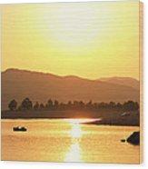 Bulgarian Sunset Wood Print