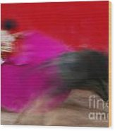 Bull Fighter - Mexico Wood Print
