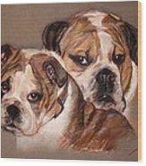 Bulldogs Wood Print