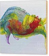 Bullfish Wood Print